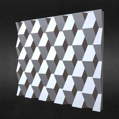 1.jpg Download 3DS file 3d wall panel  • 3D printing design, PolyArt