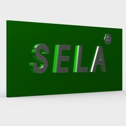 Download 3D printer files sela logo, PolyArt