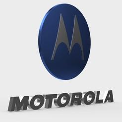 161.jpeg Download 3DS file motorola logo • 3D printing model, PolyArt