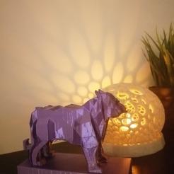 125960627_211747890311532_1189761098695546455_n.jpg Download free STL file Low poly bengal tiger • 3D print template, lightshadowds