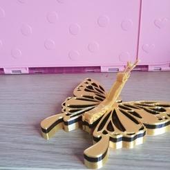 119080020_3478078468947947_773957595979609157_n.jpg Download free STL file Butterfly Coat hook • Design to 3D print, lightshadowds