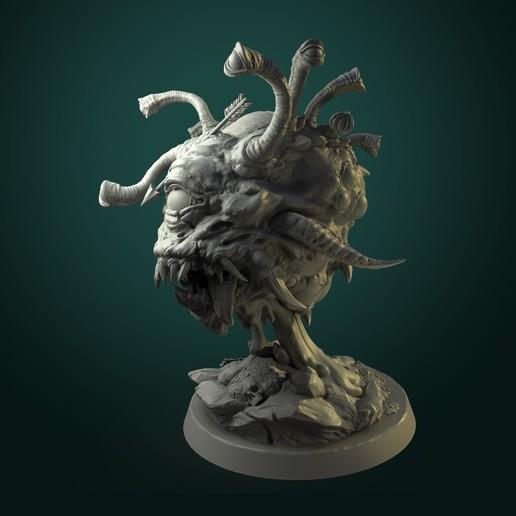 Beholder04.jpg Télécharger fichier STL L'œil ancien d'Urrock'h • Objet imprimable en 3D, White_Werewolf_Tavern