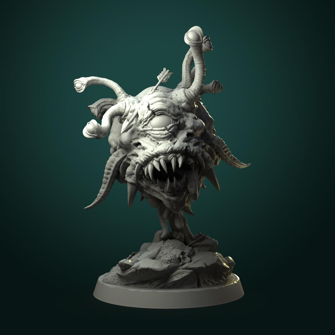 Beholder.jpg Télécharger fichier STL L'œil ancien d'Urrock'h • Objet imprimable en 3D, White_Werewolf_Tavern