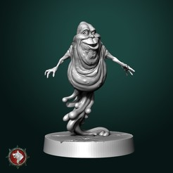 Slimer_V1_2.jpg Download free STL file Common Slimer  • 3D printer model, White_Werewolf_Tavern