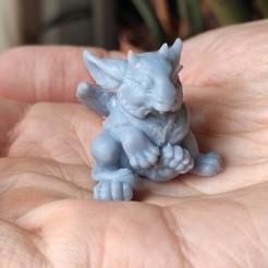 Télécharger fichier impression 3D Bébé Dragon O'elle, White_Werewolf_Tavern