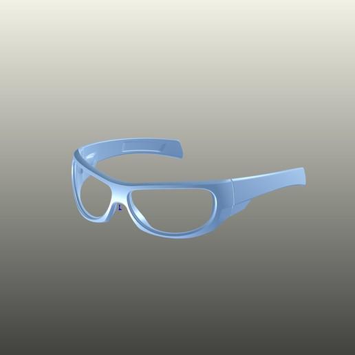 Download 3D printing models sunglasses sport_Sports glasses, diegoziko