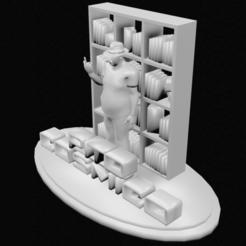 Descargar archivo 3D El señor del bigote, 3DPrintingDevise