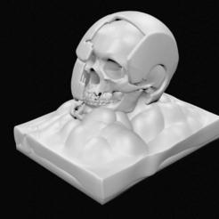 Descargar diseños 3D Casco de ironman destruido, 3DPrintingDevise