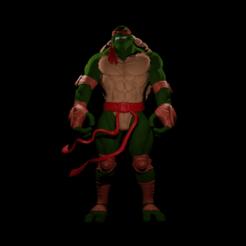 Tortuga ninja.png Télécharger fichier STL gratuit Tortue Ninja en chiffres • Modèle pour impression 3D, 3DPrintingDevise