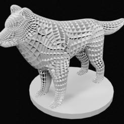 Perro.png Télécharger fichier STL Chien de structure • Modèle pour imprimante 3D, 3DPrintingDevise