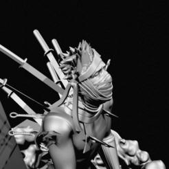 Télécharger fichier STL Zabuza Momochi • Plan pour imprimante 3D, 3DPrintingDevise