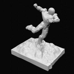 Descargar archivos STL Ironman Lowpoly, 3DPrintingDevise