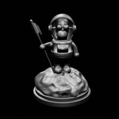 1homero astronauta1.jpg Download STL file Homer Astronaut (Pack of two models) • 3D print object, 3DPrintingDevise