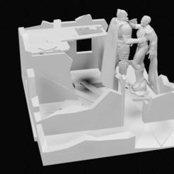 Descargar diseños 3D Batman VS Superman, 3DPrintingDevise