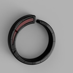 Chrome_Black_Ring_with_embedded_Ruby_2020-May-08_07-37-17PM-000_CustomizedView7949605463_jpg.jpg Download STL file Chrome Black ring with an embedded ruby • 3D printable object, Makerstube