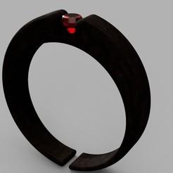 Wood-Ruby_Ring_2020-May-13_03-00-59AM-000_CustomizedView1612637456_jpg.jpg Download STL file Wood-Ruby Ring • Model to 3D print, Makerstube