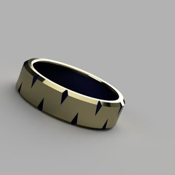 Gold-blue_worn_out_ring_2020-May-10_02-51-55PM-000_CustomizedView45685829616_jpg.jpg Download STL file Gold Blue dented ring • 3D printable object, Makerstube