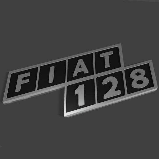 Descargar modelo 3D Fiat 128 Emblema, fvillalba4423