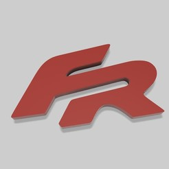 Descargar diseños 3D Fr Logo Basic, fvillalba4423