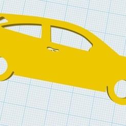 Descargar archivos 3D Ford Focus Keychain, fvillalba4423