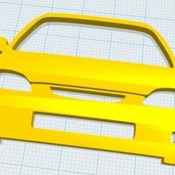 Civic 6G.jpg Télécharger fichier STL Porte-clés Honda Civic • Objet pour imprimante 3D, fvillalba4423