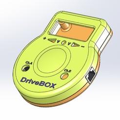 Sans titre-1.jpg Télécharger fichier STL Boitier Drive Box • Modèle pour imprimante 3D, Mc2h2o