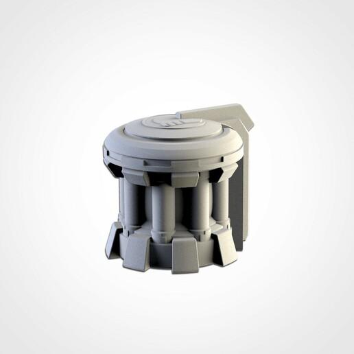 TXFA_WEB_TAU_04.jpg Download STL file XENOS BUILDINGS • 3D printing model, Txarli_Factory