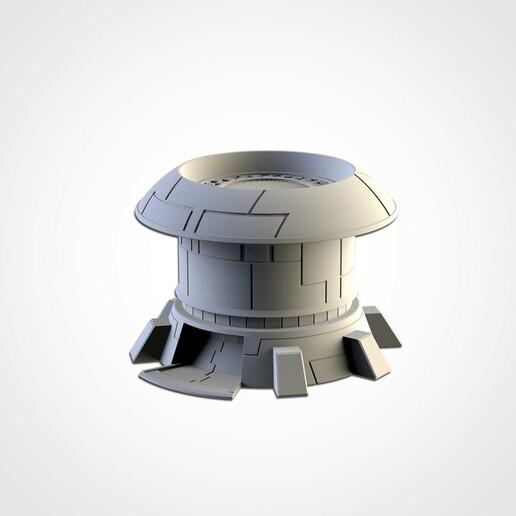 TXFA_WEB_TAU_06.jpg Download STL file XENOS BUILDINGS • 3D printing model, Txarli_Factory