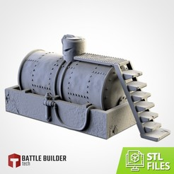 TXFA_WEB_TANK_01.jpg Download STL file WATER TANK • 3D printer model, Txarli_Factory