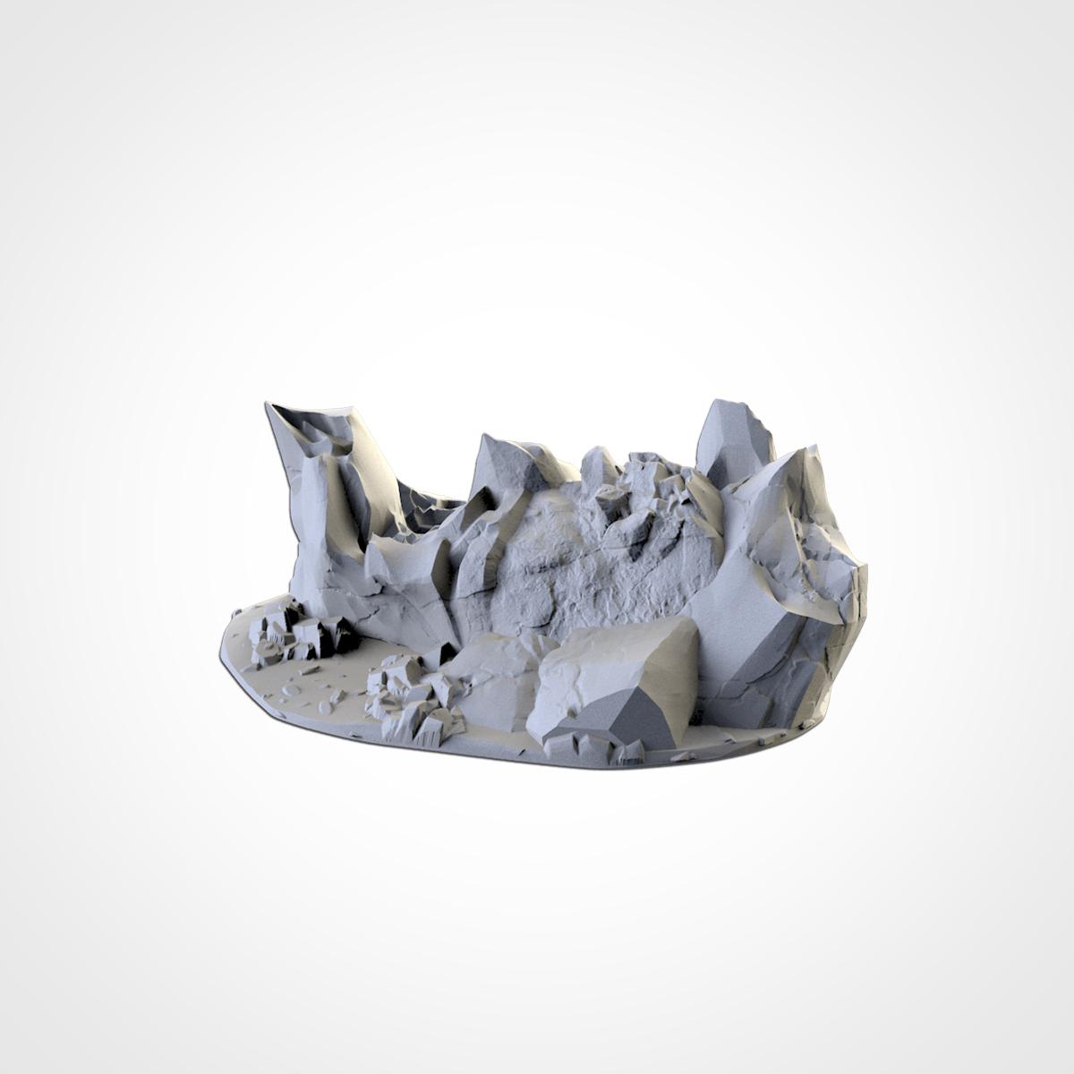 TXFA_WEB_ROCKY_05_01.jpg Download STL file ROCKY TERRAIN • 3D printing object, Txarli_Factory
