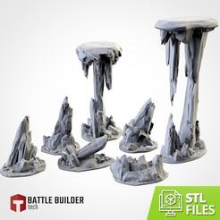 TXFA_WEB_ROCKY_01.jpg Download STL file ROCKY TERRAIN • 3D printing object, Txarli_Factory