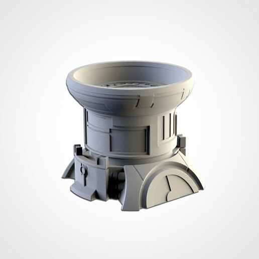 TXFA_WEB_TAU_07.jpg Download STL file XENOS BUILDINGS • 3D printing model, Txarli_Factory
