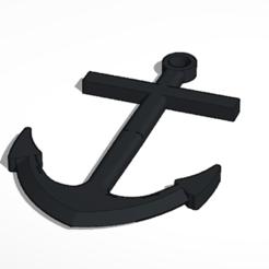 Download free STL file Anchor for models • 3D printable object, sebastienprivat
