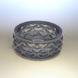 Download free 3D printing templates Heart filled ring, Priti