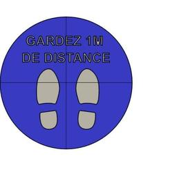 Panneau DISTANCE 4 pièces 30 cm img1.jpg Download STL file Panel (floor) DISTANCE 1M cut in 4 pieces • 3D printing template, 8XL