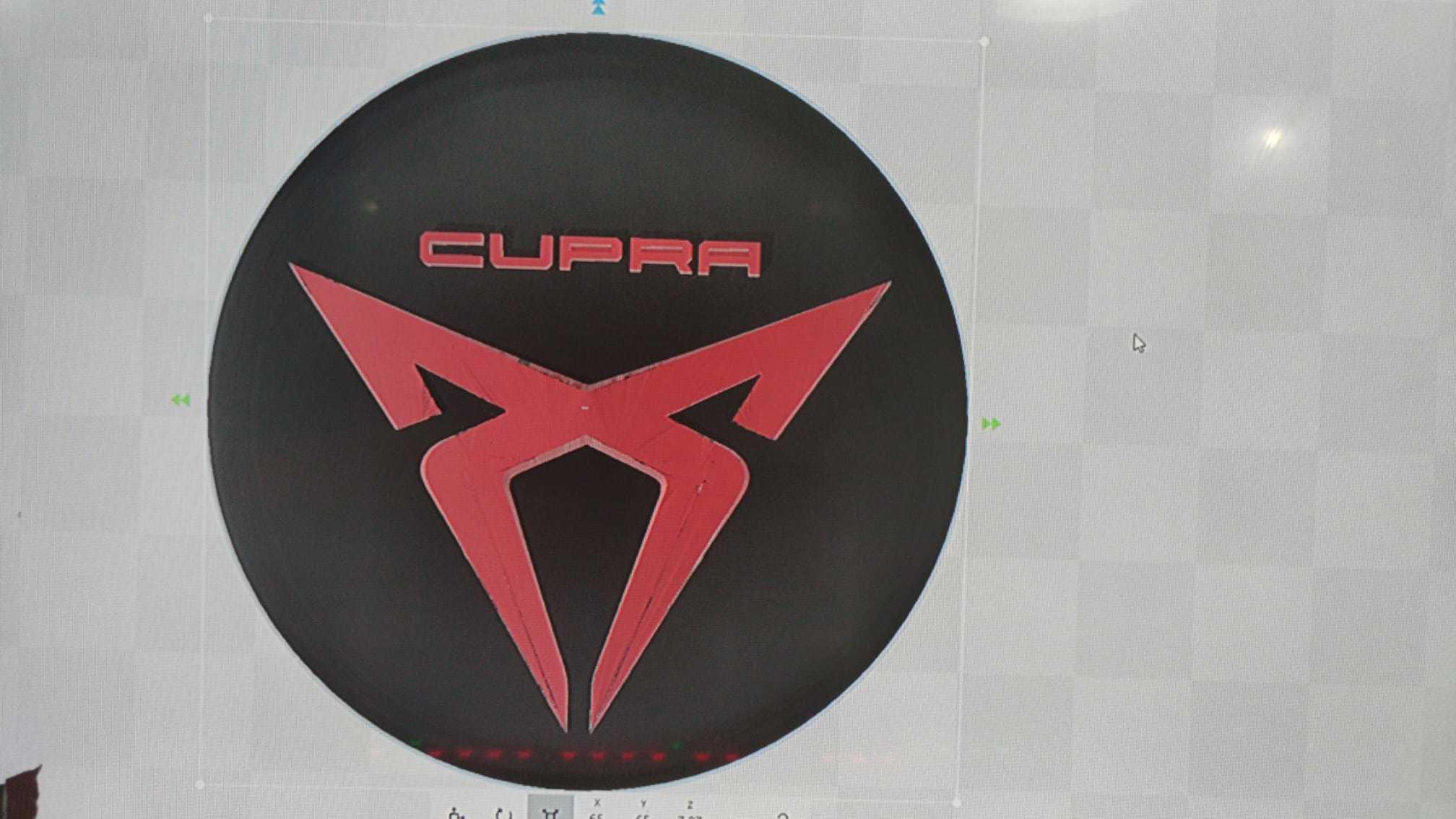 IMG-20200706-WA0139.jpg Download free OBJ file flying cupra logo • 3D print design, flakitasinsaber