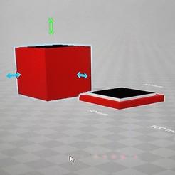 Descargar archivos 3D caja simple , flakitasinsaber