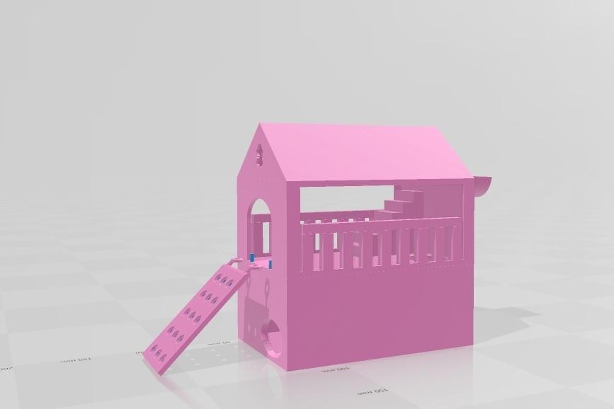 Sin título 1.jpg Télécharger fichier OBJ gratuit Maison du hamster casita • Plan pour imprimante 3D, flakitasinsaber