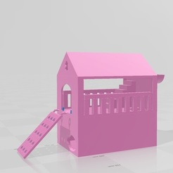 Download free STL file Hamster house casita, flakitasinsaber