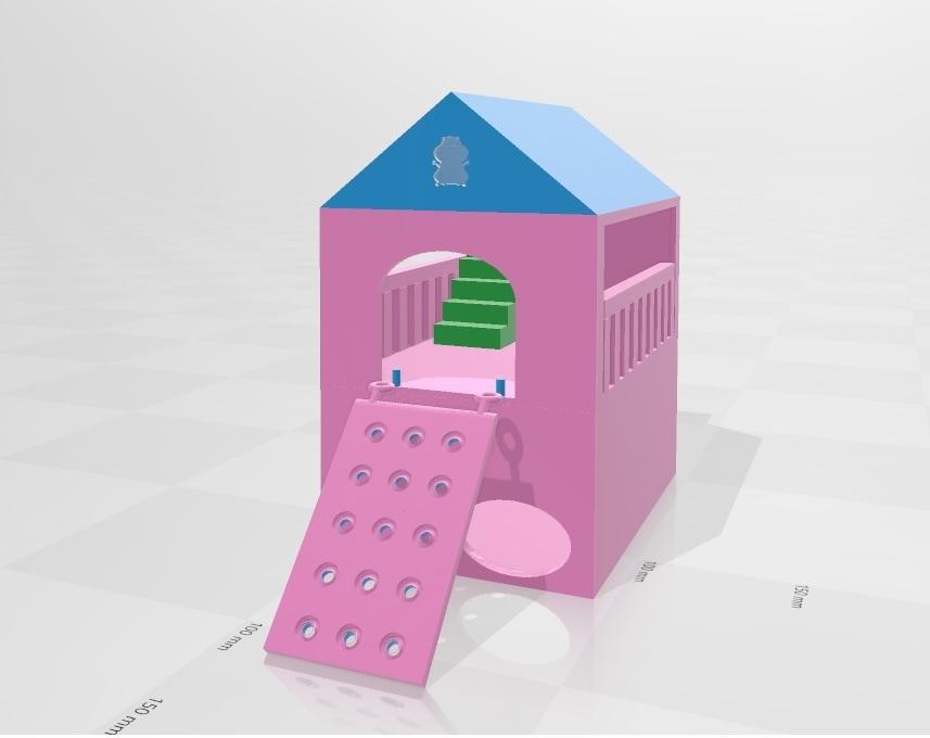 Sin título.jpg Télécharger fichier OBJ gratuit Maison du hamster casita • Plan pour imprimante 3D, flakitasinsaber