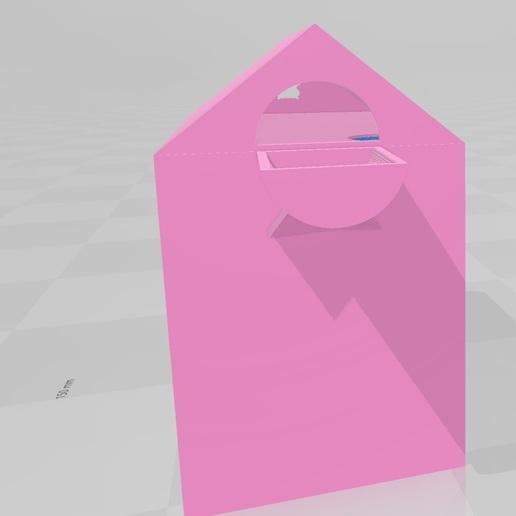 Sin título2.jpg Télécharger fichier OBJ gratuit Maison du hamster casita • Plan pour imprimante 3D, flakitasinsaber