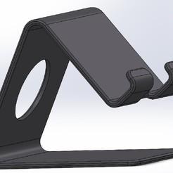 Imprimir en 3D Soporte Celular, ChuyAlex
