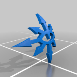 Download free 3D printing models Dark Legion Shoulder Symbol, Calidus