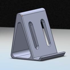 Download STL file Smartphone holder / Smartphone Holder, ArnaudCs