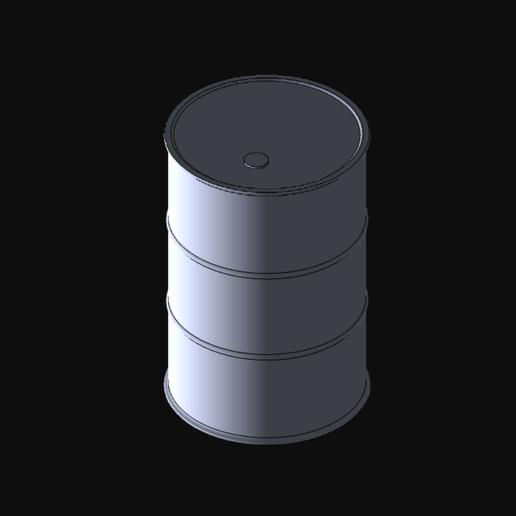 Descargar diseños 3D Barril para decoraciones, tamaño 1/35, ArnaudCs