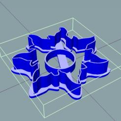 Descargar modelos 3D para imprimir Cortador de galletas SUN - Cortador de bolacha SOL, douglaswolff