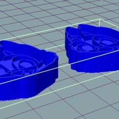 Chip 'n Dale Cookie Cutters FOTO 2.png Télécharger fichier STL Coupe-biscuits Chip 'n Dale (2) • Modèle pour imprimante 3D, douglaswolff