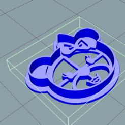 Descargar modelo 3D CORTADORES URSO - Cortador de galletas, douglaswolff