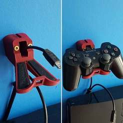 IMG_20170319_154530.jpg Download free STL file Playstation Controller Charger(craddle/nest) • Design to 3D print, bywebberen