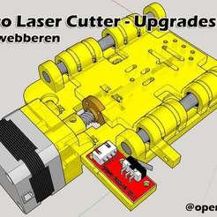 Télécharger fichier STL gratuit Acro Laser cutter/ingraver - Mods et mises à jour • Objet pour imprimante 3D, bywebberen
